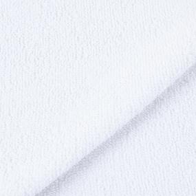 Салфетка махровая цвет 024 белый 30/30 см фото