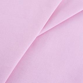 Ткань на отрез бязь гладкокрашеная 120 гр/м2 150 см цвет розовый фото