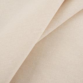 Ткань на отрез бязь гладкокрашеная 120 гр/м2 150 см цвет бежевый фото