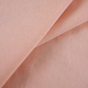 Ткань на отрез бязь гладкокрашеная 120 гр/м2 150 см цвет персик фото