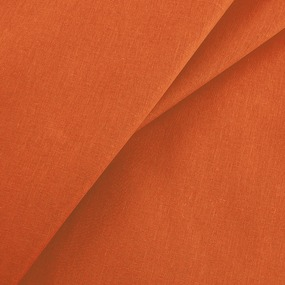 Ткань на отрез бязь гладкокрашеная ГОСТ 150 см цвет оранжевый фото