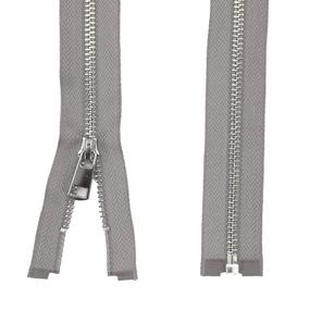 Молния металл №5ТТ никель разъём 75см D323 темно серый фото
