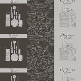 Вафельное полотно набивное 150 см 1364/1 Кухня Loft фото