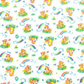 Набор детских пеленок фланель 4 шт 90/120 см 144-1П фото