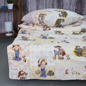 Детское постельное белье из поплина 1.5 сп 10132/1 Машенька фото