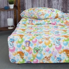 Детское постельное белье из поплина 1.5 сп 4987/1 Праздник фото