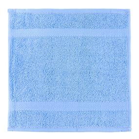 Салфетка махровая Sunvim 17В-5 30/30 см цвет голубой фото