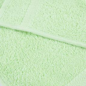 Салфетка махровая Sunvim 17В-5 30/30 см цвет салатовый фото
