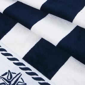 Полотенце махровое Sunvim 12В-16 65/135 см цвет синий фото