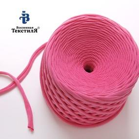 Трикотажная пряжа цвет фламинго фото