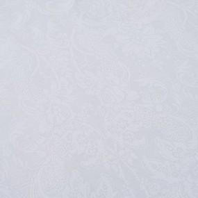Простыня на резинке бязь 5032/5 Вензель белый 90/200/20 см фото