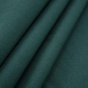 Мерный лоскут кашкорсе с лайкрой цвет темно-зеленый 2,2 м фото