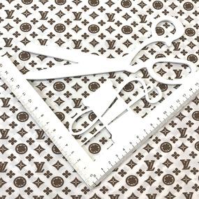Рубашечная ткань на отрез Элиф LV-4 б/з цвет коричневый фото