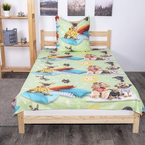 Детское постельное белье из поплина 1.5 сп 1641/2 фото