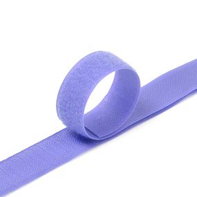 Лента-липучка 25 мм 1 м цвет F169 сиреневый фото
