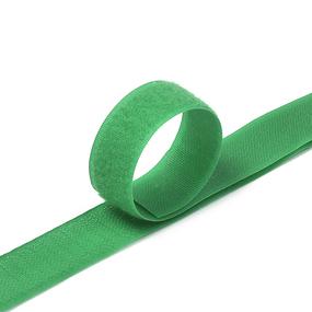 Лента-липучка 25 мм 1 м цвет F258 зеленый фото