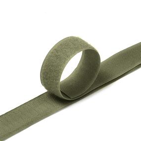 Лента-липучка 25 мм 1 м цвет F327 хаки фото