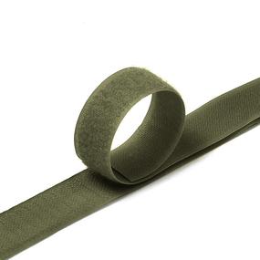 Лента-липучка 25 мм 1 м цвет F328 хаки фото