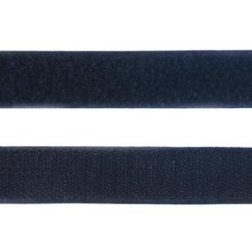 Лента-липучка 25 мм 1 м цвет черный фото