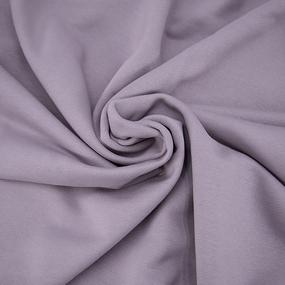Ткань на отрез футер 3-х нитка диагональный цвет лила фото