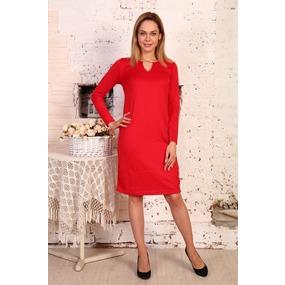 Платье Кристина милано красное Д433 р 60 фото