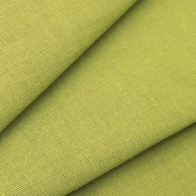Ткань на отрез полулен 150 см 70016 цвет зеленый фото