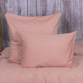 Наволочка сатин 40S 003 цвет розовый 50/70 фото