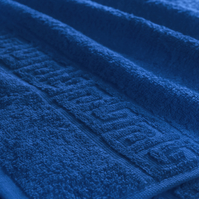 Полотенце махровое Туркменистан 50/90 см цвет синий BRIGHT фото