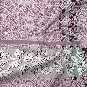 Бязь Премиум 220 см набивная Тейково рис 6419 вид 1 фото
