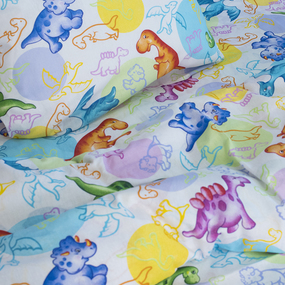 Детское постельное белье из бязи 1.5 сп 10334/1 Динозаврики фото