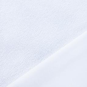 Terrycloth+PU Махра Хлопок водостойкая полиуретановая мембрана плотность 190 г/м2 фото