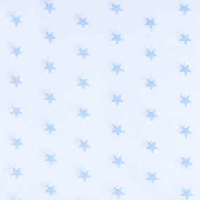 Отрез 150х150 Бязь плательная 150 см 1700А/3 цвет голубой фото