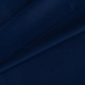 Ткань на отрез сатин гладкокрашеный 250 см 50S 339 синий фото