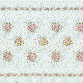 Перкаль 220 см набивной арт 239 Тейково рис 6746 вид 1 Цветочный флер фото