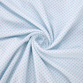 Ткань на отрез кулирка 1022-V51 Пшено на белом фото