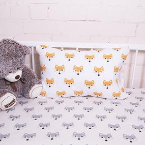 Постельное белье в детскую кроватку из поплина 1824/1+1824/2 фото