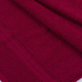 Полотенце махровое Sunvim 12В-4 50/90 см цвет бордовый фото