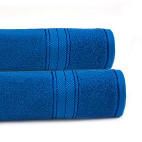 Полотенце махровое Sunvim 12В-4 50/90 см цвет васильковый фото