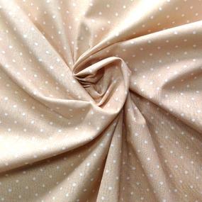 Ткань на отрез бязь плательная 150 см 1590/5 цвет бежевый фото