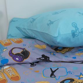Детское постельное белье 10402/1 Тинейджер поплин 1.5 сп фото