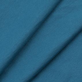 Ткань на отрез футер с лайкрой 1906-1 цвет петроль фото