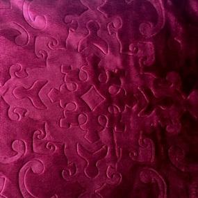 Мерный лоскут велсофт Moreska 300 гр/м2 200 см 014-ОРМ от 1 м фото