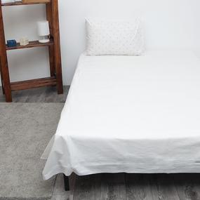 Детское постельное белье из поплина 1.5 сп Зайка-модница фото