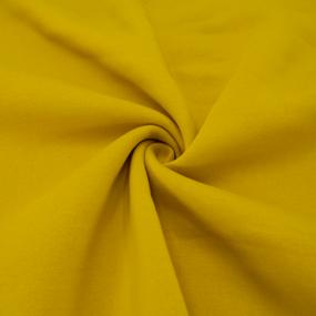 Маломеры футер 3-х нитка компакт пенье начес цвет горчичный 0,9 м фото