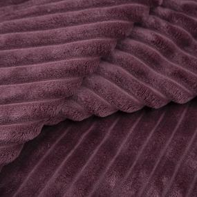 Ткань на отрез велсофт Orrizonte 300 гр/м2 200 см 5756 цвет бордовый фото