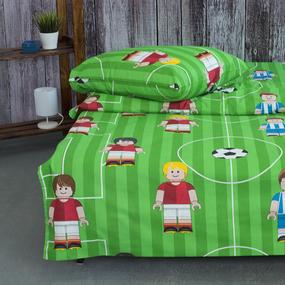 Детское постельное белье из бязи 1.5 сп 13236/1 Лего футбол фото