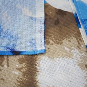 Полотенце вафельное пляжное 407/1 Сумерки 150/75 см фото
