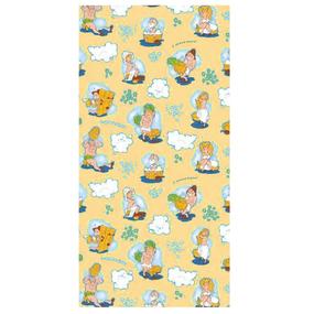 Полотенце вафельное банное 150/75 см 210/2 С легким паром цвет персиковый фото