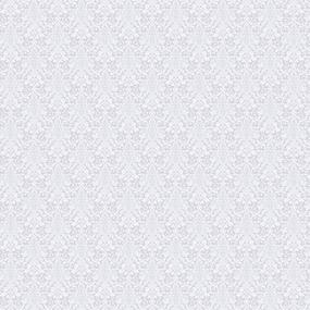 Ткань на отрез рогожка 150 см 11087/2 Вензель светло-серый фото