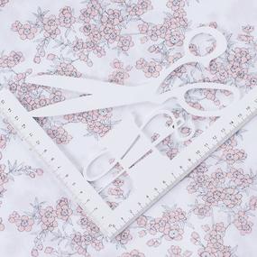 Ткань на отрез перкаль б/з 150 см 13153/2 Сакура цвет розовый фото